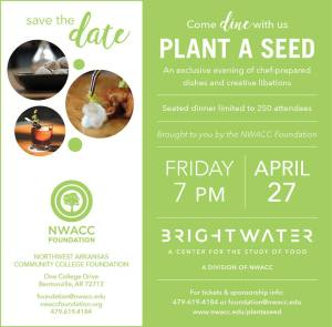 Flier for Plant a Seed